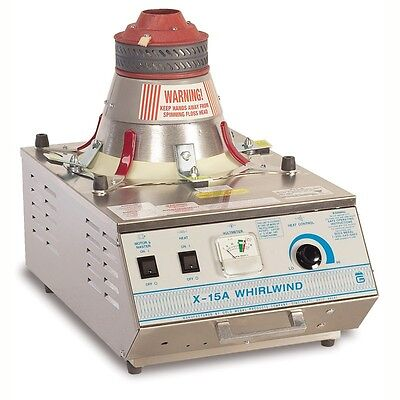 Cotton Candy Floss Machine Maker 3015a X-15 Whirlwind