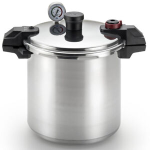 T-fal P31052 Polished Pressure Canner and Cooker with 2 Racks an