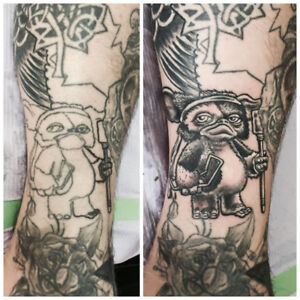 COVER and FIX UP TATTOO at Toronto Pro Shop
