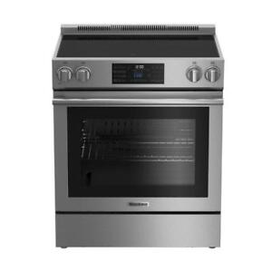 """https://aniks.ca/ Blomberg BERU30420CSS 30"""" Electric Range 5.7 cuft. Self Clean Convection Oven Blowout Sale"""