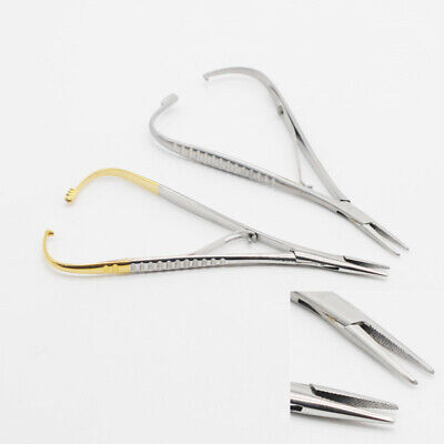 Surgical Supplies Dental Orthodontic Implant Castroviejo Needle Holders 14cm
