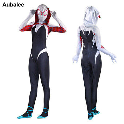 Spider Gwen Stacy Amazing Spider-man Costume For Women Kid Girl Hoodie - Spiderman Costumes For Girls