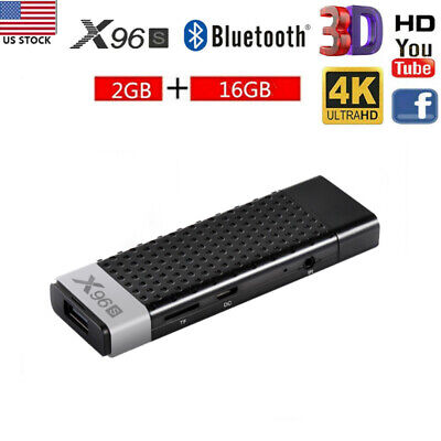X96S 2G+16G Android 8.1 Smart TV DONGLE STICK ​S905Y2 Quad Core 4K WiFi BT4.0