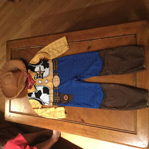 Costume Woody Taille 4-6 ans