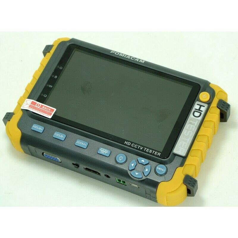 HD CCTV Tester 8MP  AHD TVI CVI CVBS Security Camera Tester Monitor PTZ UTP
