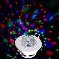 RGB Full Color LED Sound Active Rotating Ceiling stage lig$39.99