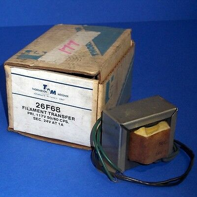 Thordarson Meissner 117v 5060hz Filament Transfer 26f68 New