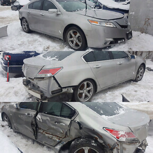 2009-2014 ACURA TL SH-AWD PART OUT