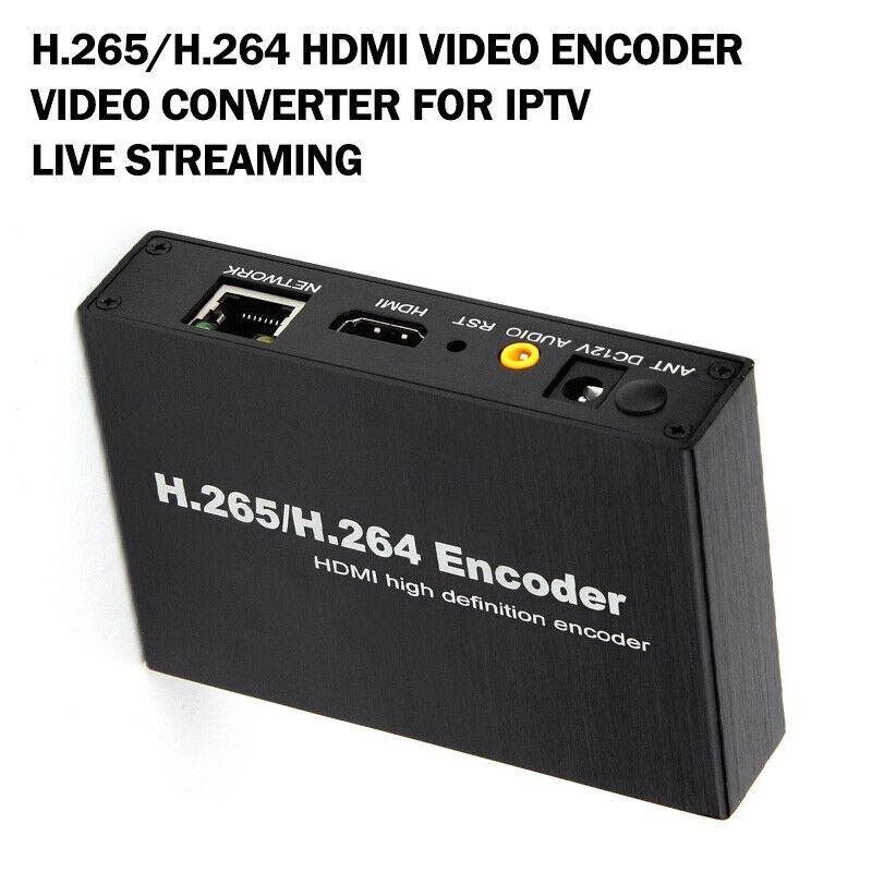 H.265/H.264 HDMI Video Encoder Video Converter For IPTV Live Streaming