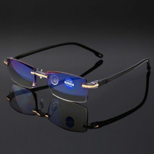 Randlose Lesebrille Damen Herren Leser Brille Lesehilfe Sehhilfe +1.0 +2.0 +3.0