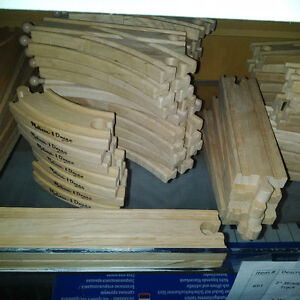 Individual Wooden Train Track Pieces Cambridge Kitchener Area image 2