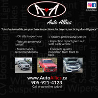 Automobile Pre-Purchase Inspections