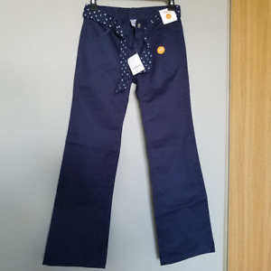 brand-new School Uniform Girl Navy Pants size 10-12