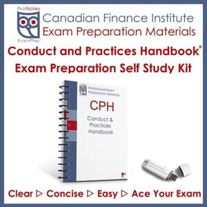 CPH Conduct and Practices Handbook Exam Prep 2018 Textbook