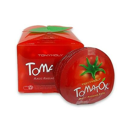[TONYMOLY] Tomatox Magic Massage pack 80g + Sample 7pcs(21g) / Korea cosmetic