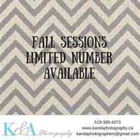 Limited Number of Fall Sessions Available!