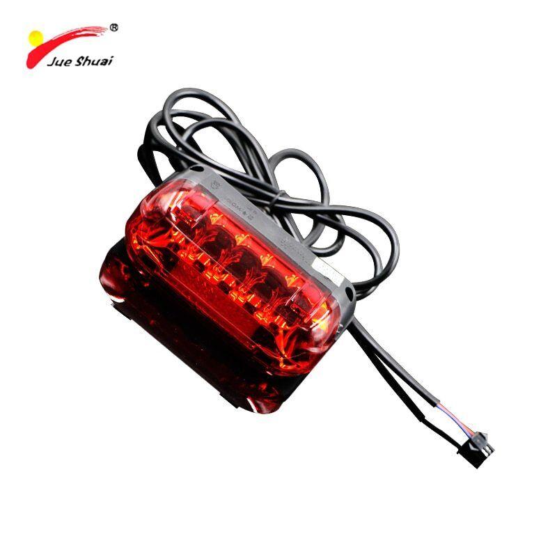 Jueshuai LED 36V tail light for Electric Bike Accessories fl