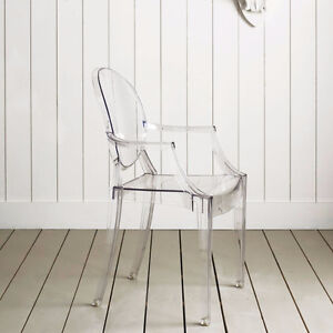 Chaise louis ghost, Transparent, Fantome, louis ghost chair