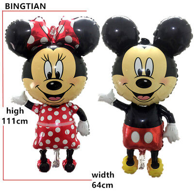 Mouse Theme Balloons Large Giant Big Red Bowknot Birthday Party Decor 111 CM](Red Birthday Theme)