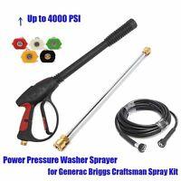 High Pressure/power Washer Spray Gun, Wand/lance&nozzle Kit Gasoline 4000psi - unbranded - ebay.co.uk