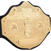 WANTED 2MM ADULT WCW HEAVYWEIGHT CHAMPIONSHIP REPLICA BELT