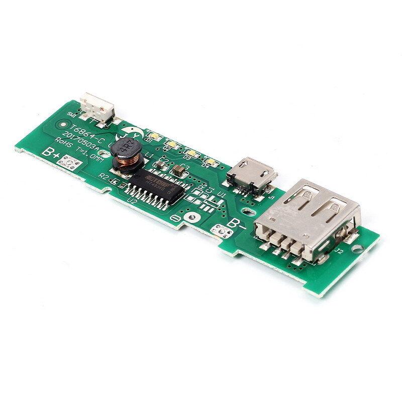 Circuito di alimentazione per power bank universale 18650 da 3.2V-4.2V a 5V/1A