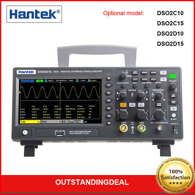Hantek Digital Dso2000 Series Oscilloscope 2ch1ch 1gsas 100150mhz 25mhz Awg