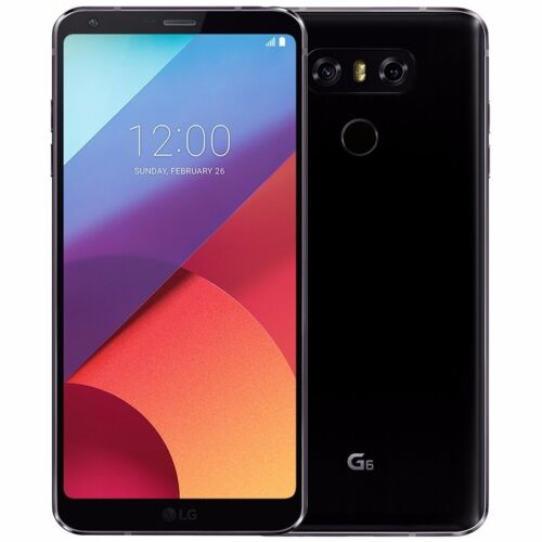 Android Phone - Unopened LG G6 32GB GSM 4G LTE Unlocked Android Smartphone Black AT&T T-Mobile