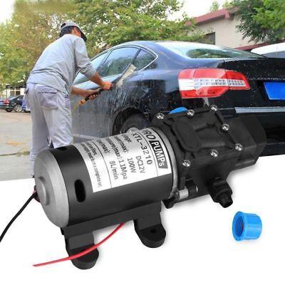 High Pressure Diaphragm 12v Dc Self Priming Pump Water 100w Abs 160 Psi 8l Min
