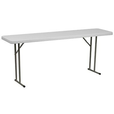 18x72 Plastic Folding Seminar Table - Training Table