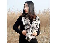 DAYMISFURRY--Rex Rabbit Fur Scarf