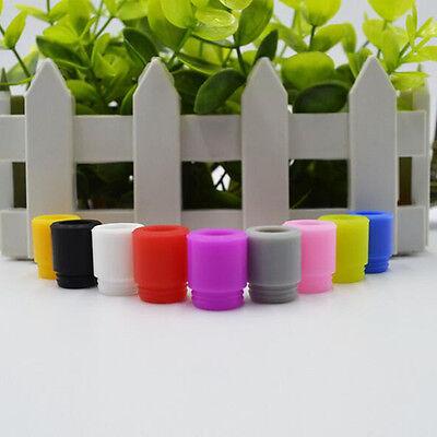 Plastic Drip - Color Soft Silicone Plastic Drip Tips Subtank Tank Mod Vape Rand Random