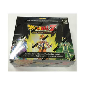 Cartes Dragon Ball Z Heroes and Vilains booster box