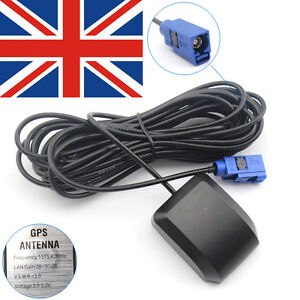 FAKRA GPS antenna for BMW Audi VW NTG 2.5 4 Comand APS Vauxhall Opel CE UK Stock