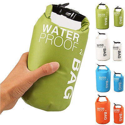 Waterproof Dry Bag Sack Pouch Boating Kayaking Camping Rafting Hiking Bag 2L/5L