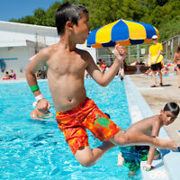 SUMMER SWIMMING AT MOSES SPRINGER OUTDOOR POOL - WATERLOO
