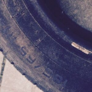 Pneus - Tires - 185/65 R14 M+S - 4 saisons