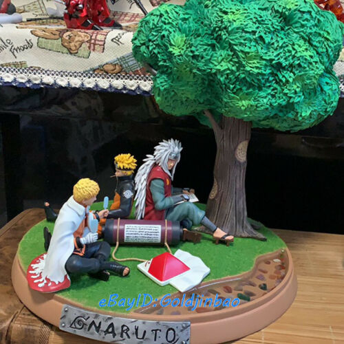 Uzumaki Naruto X Jiraiya Gama Sennin Resin Statue Painted Model In Stock GK Hot