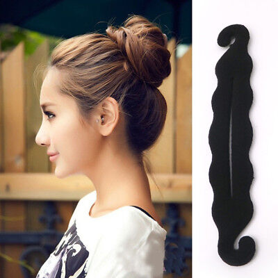 2 pcs Women Magic Hair Twist Hair Styling Tools Bun for Hair Best Clip (Best Clips For Pcs)