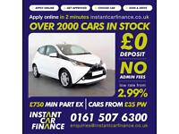 Toyota Aygo Vvt-I X-Pression 1.0 Manual Petrol GOOD / BAD CREDIT CAR FINANCE