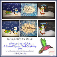 Christmas Cards Class with Linda