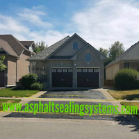 Early special on asphalt drive way sealing the best quality