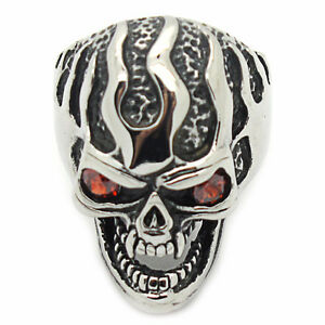 Stainless Steel Skull Ring