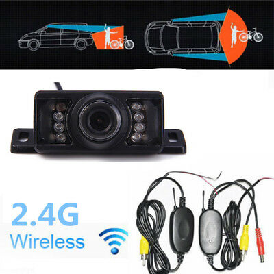 HD Auto Car Rear View Backup Reversing Camera Waterproof NTSC/PAL Video System