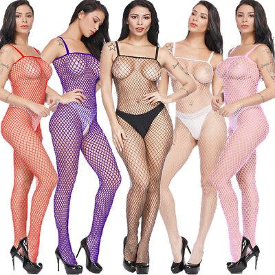 Fishnet Body Stocking Babydolls Sleepwear Women Sexy Lingerie Erotic Costumes