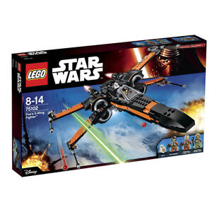 Lego Star Wars (75102) - Poe's X-Wing Fighter (BRAND NEW)