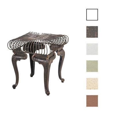 Tisch MELLE Beistelltisch Terassentisch Shabby Gartentisch Metalltisch Eisen NEU