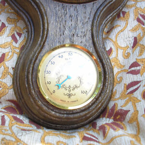 Pair of Vintage Fisher Barometers/Thermometers Made in France. Kitchener / Waterloo Kitchener Area image 7