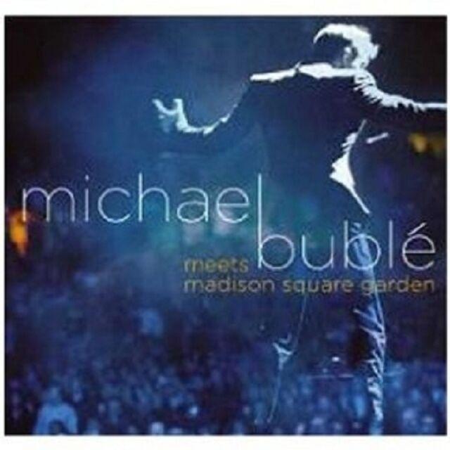 MICHAEL BUBLE MEETS MADISON SQUARE GARDEN CD + DVD NEU