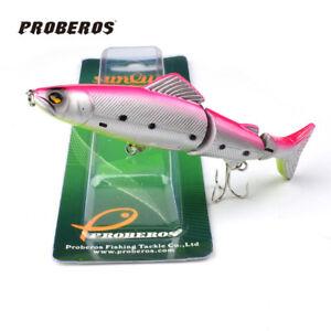 "Trulinoya fishing lures 5""-17.36g fish tackle #2 hook bass bait"